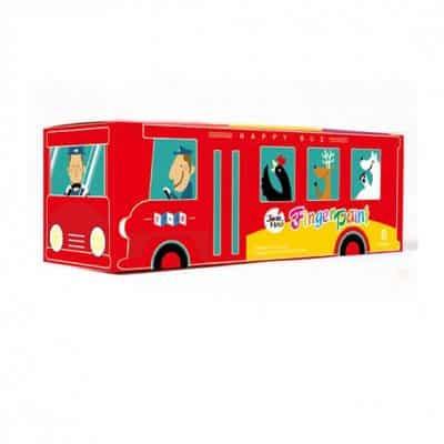 Joan Miro Happy Bus สีทามือไร้สารพิษ 6 สี