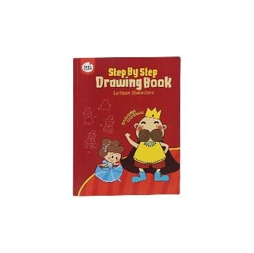 step by step/Drawing book (CARTOON CHARACTERS) สมุดสอนวาดภาพชุดตัวการ์ตูน