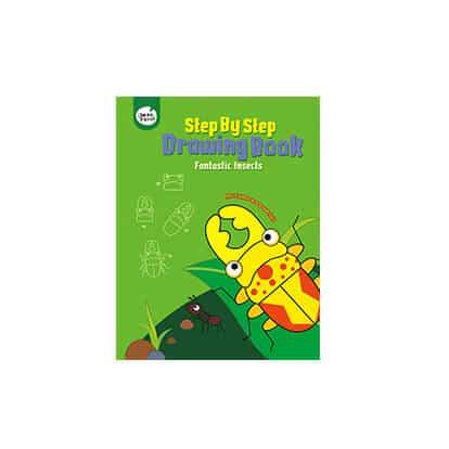 step by step/Drawing book (FANTASTIC INSECTS) สมุดสอนวาดภาพชุดแมลงมหัศจรรย์