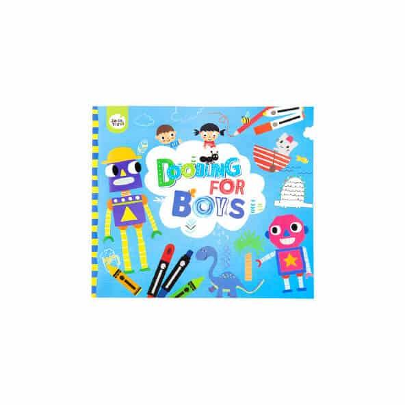 Doodling for boys หนังสือสอนวาดภาพ(เด็กผู้ชาย)