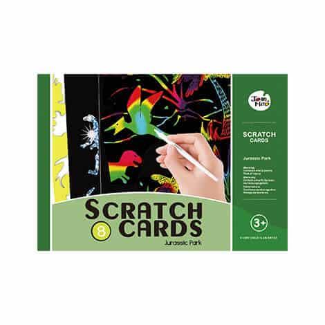 Scratch art set -Jurassic Park ชุด Scratch Art โลกดึกดำบรรพ์