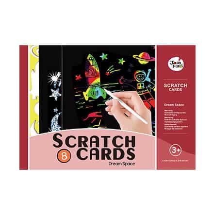 Scratch art set -Dream Space ชุด Scratch Art ห้วงอวกาศ