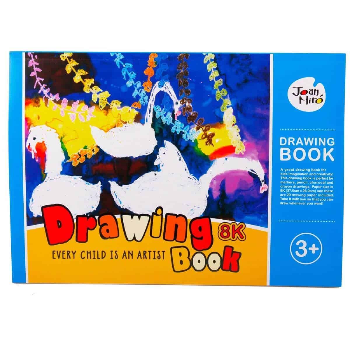 Joan Miro Drawing Book 8K สมุดวาดเขียน