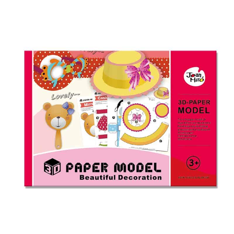 3D Paper Model-Beautiful Decoration โมเดล 3 มิติชุดเครื่องประดับ