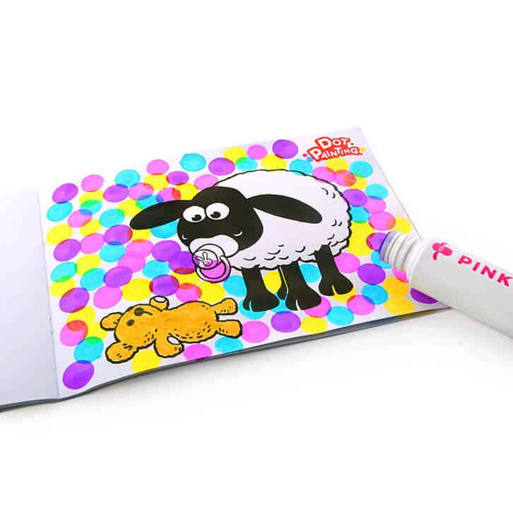 Shaun the Sheep Dot Painting ชุดปากกาแต้มสี ฌอณเดอะชิป