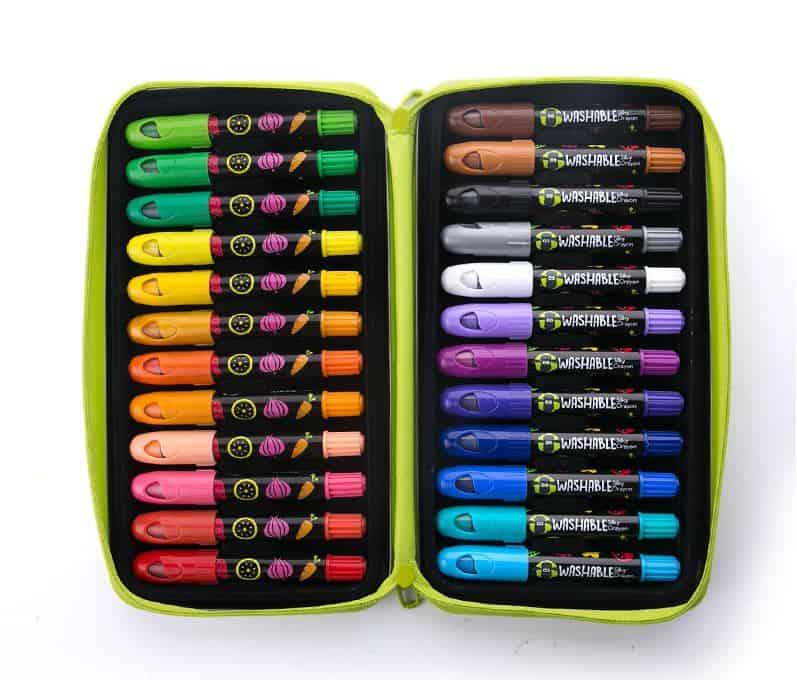 Joan Miro Shaun the Sheep Silky Crayons-24 colors สีเทียน ฌอณเดอะชิป