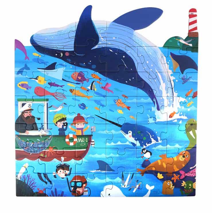 Puzzle-Marine Animals จิ๊กซอว์ชุดสัตว์ทะเล