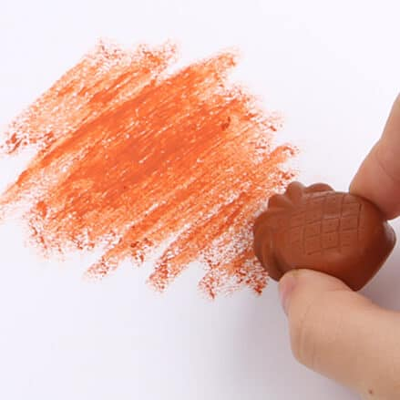Bees Wax Crayon (Colorful Fruits) สีเทียน Bees Wax ชุดผลไม้