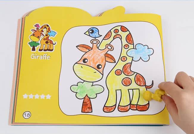 Bees Wax Crayon (Cute Dinosaurs) สีเทียน Bees Wax ชุดไดโนเสาร์