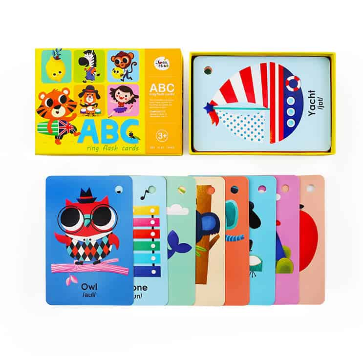 ABC-Ring Flash Cards การ์ดคำศัพท์ ABC