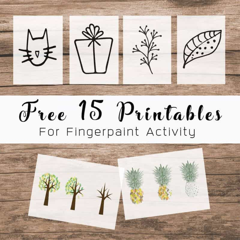 Free printables download Fingerpaint
