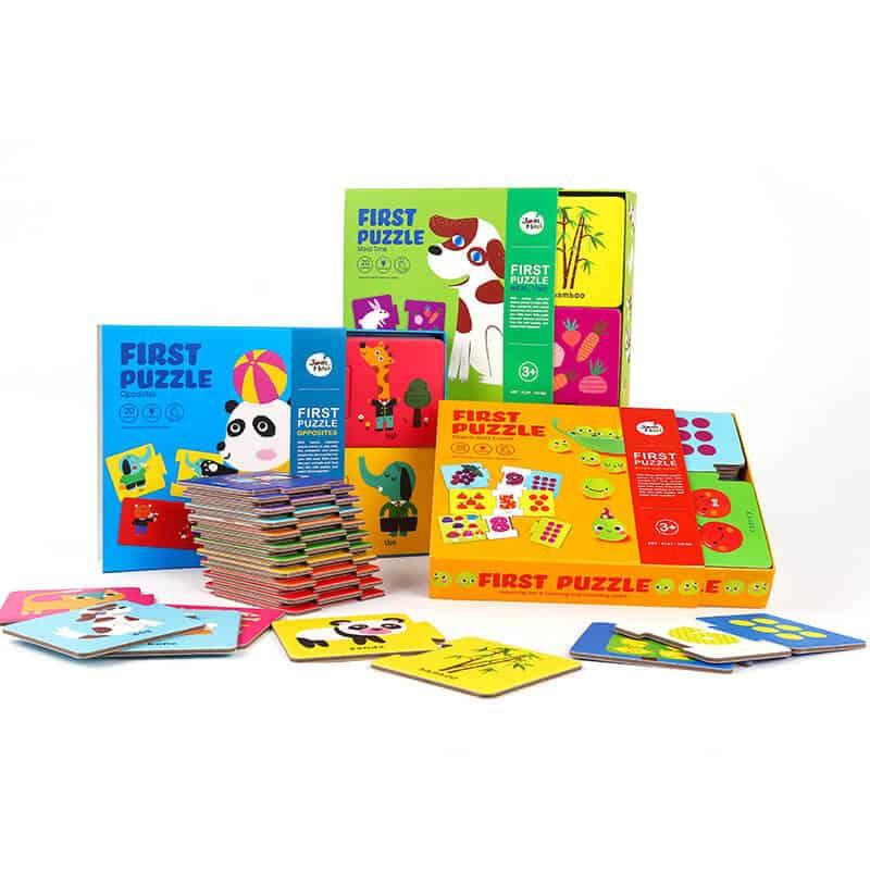 Joan Miro จิ๊กซอร์เสริมพัฒนาการเด็ก First Puzzle Reasoning & Matching Skill
