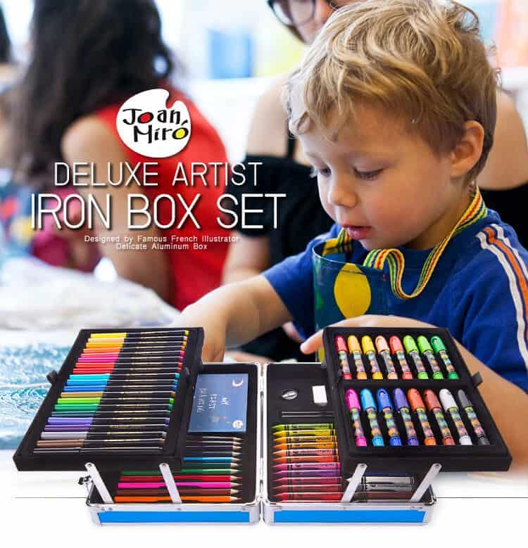 Joan Miro Deluxe Artist Iron Box Set