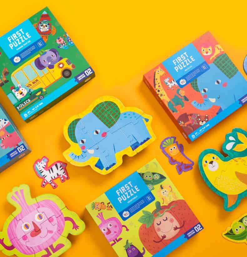 First Puzzle - จิ๊กซอว์ชิ้นใหญ่สำหรับเด็กจิ๊กซอว์