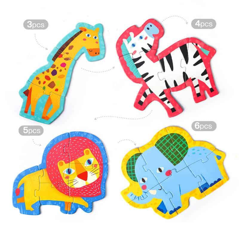 First Puzzle - จิ๊กซอว์ชิ้นใหญ่สำหรับเด็กจิ๊กซอว์First Puzzle - จิ๊กซอว์ชิ้นใหญ่สำหรับเด็กจิ๊กซอว์