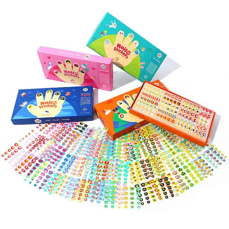 ชุดสติ๊กเกอร์ติดเล็บ - Nail-Stickers