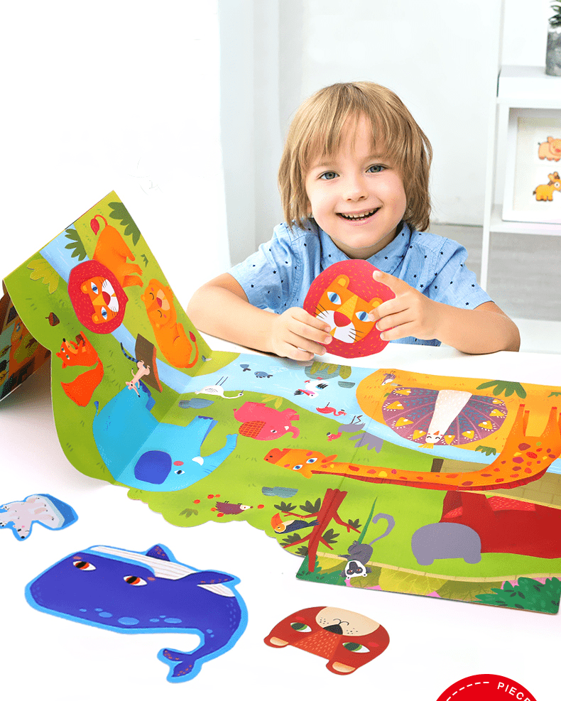 Reusable Sticker Play Set