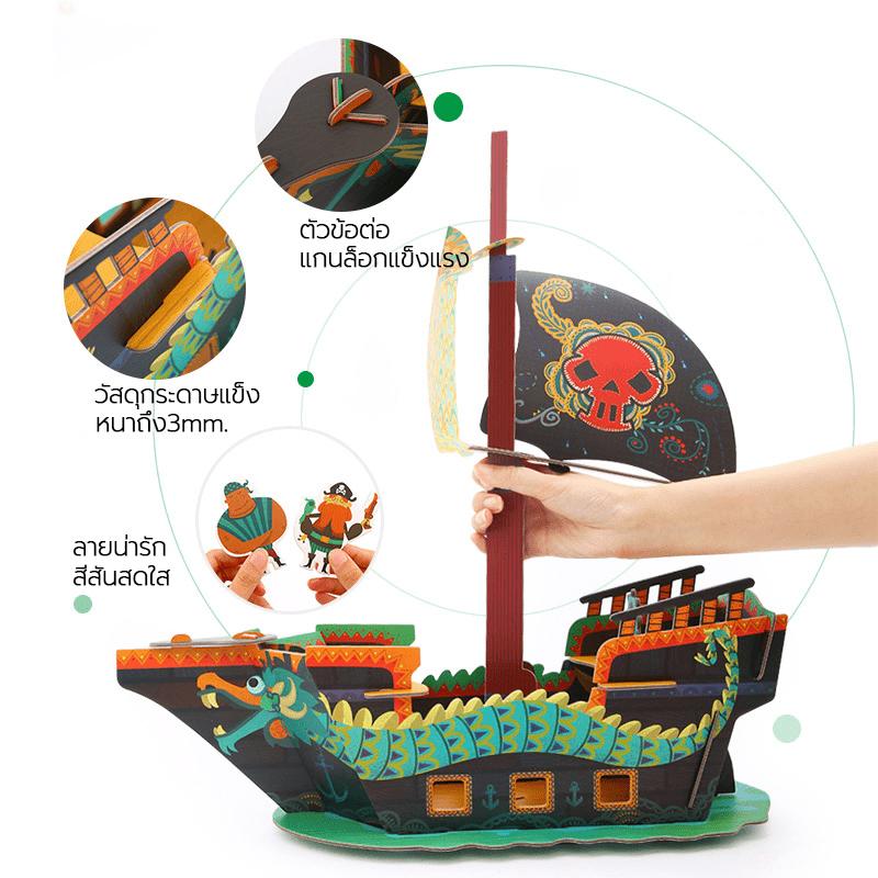 จิ๊กซอร์ที่รูปทรง 3 มิติ 3D Puzzle Pop-up