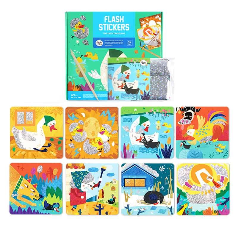 Flash Stickers