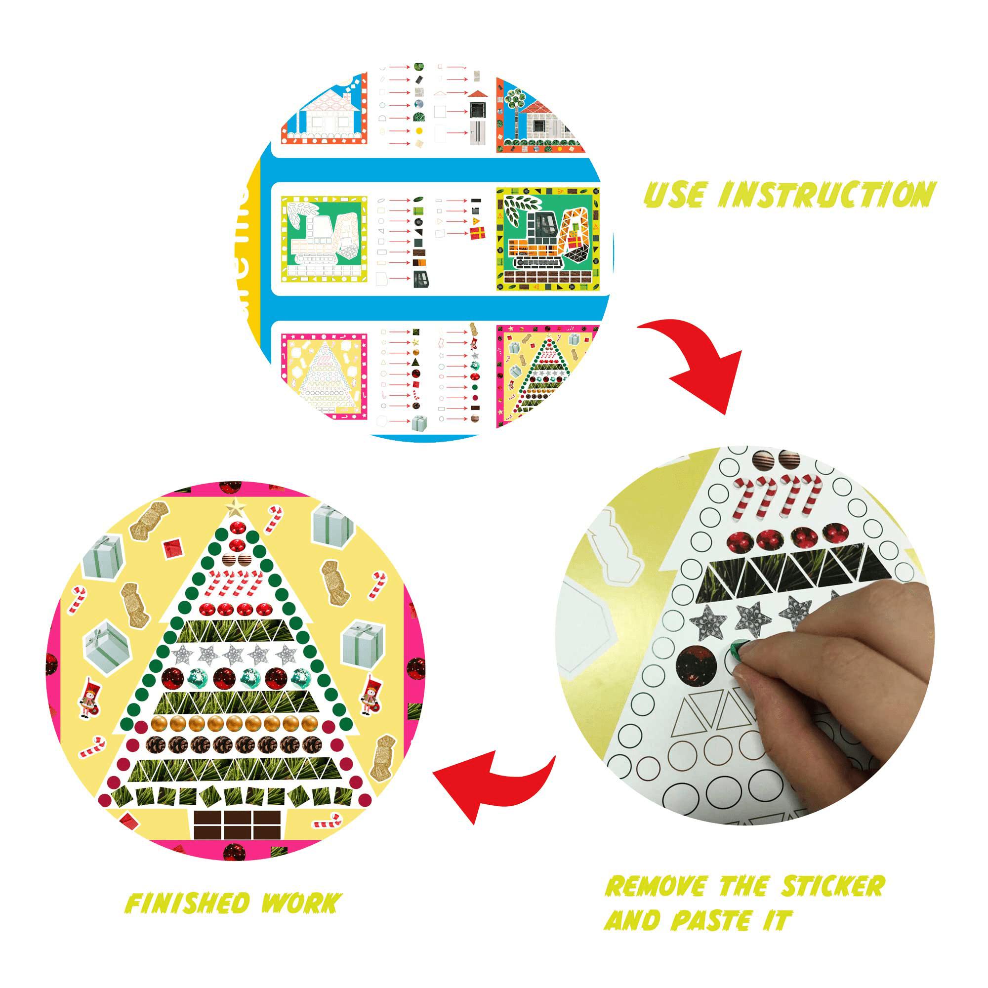 Mosaic Sticker