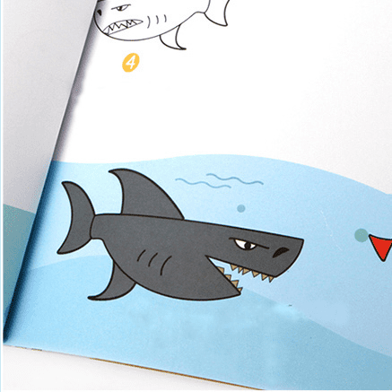 step-by step drawing book