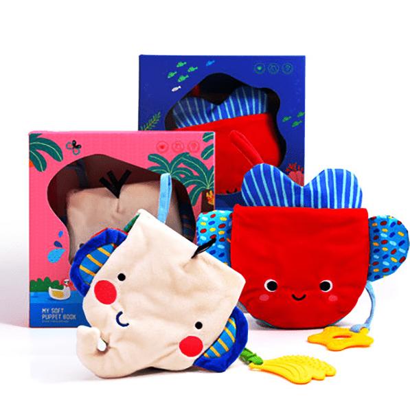 Soft book หนังสือหุ่นมือผ้าสำหรับเด็ก