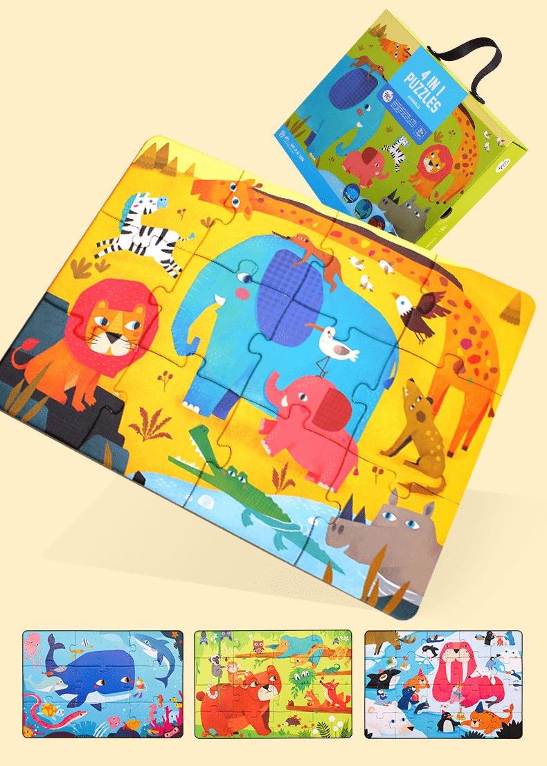 4 in 1 puzzle