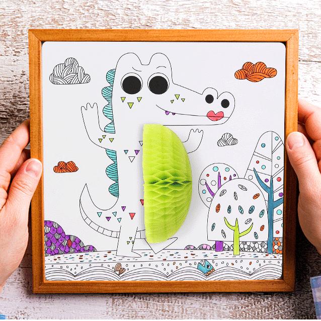 ชุดกิจกรรมศิลปะ D.I.Yเสริมสร้างจินตนาการให้เด็ก